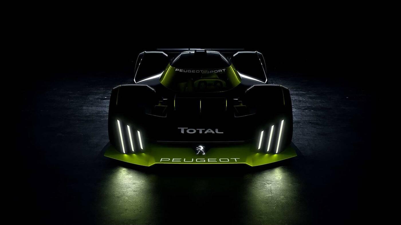 hipersamochód Peugeota Le Mans, napęd HLM Peugeota, napęd hipersamochodu Peugeota