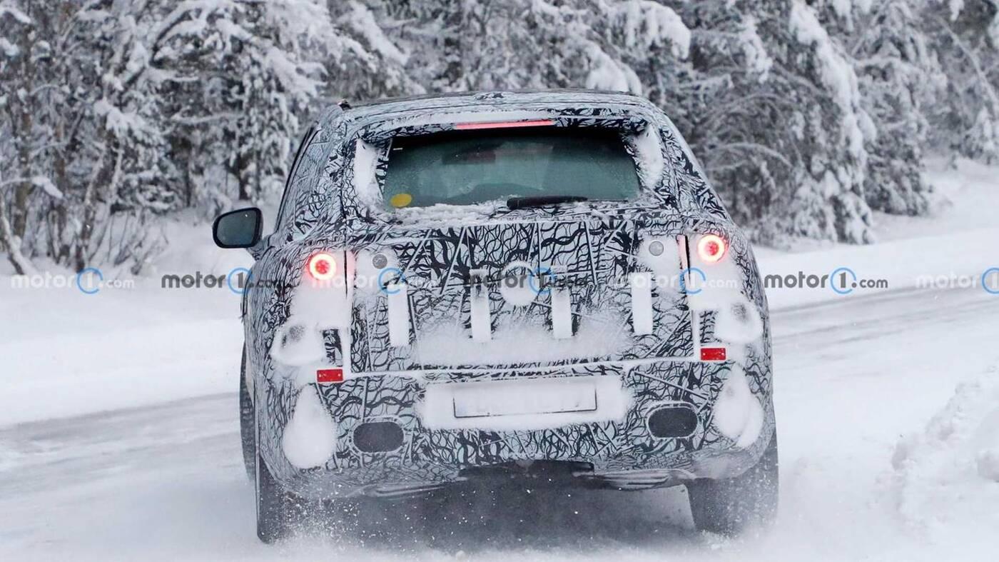 prototyp Mercedes-Benz EQS, Mercedes EQS, prototyp EQS, zdjęcia szpiegowskie EQS