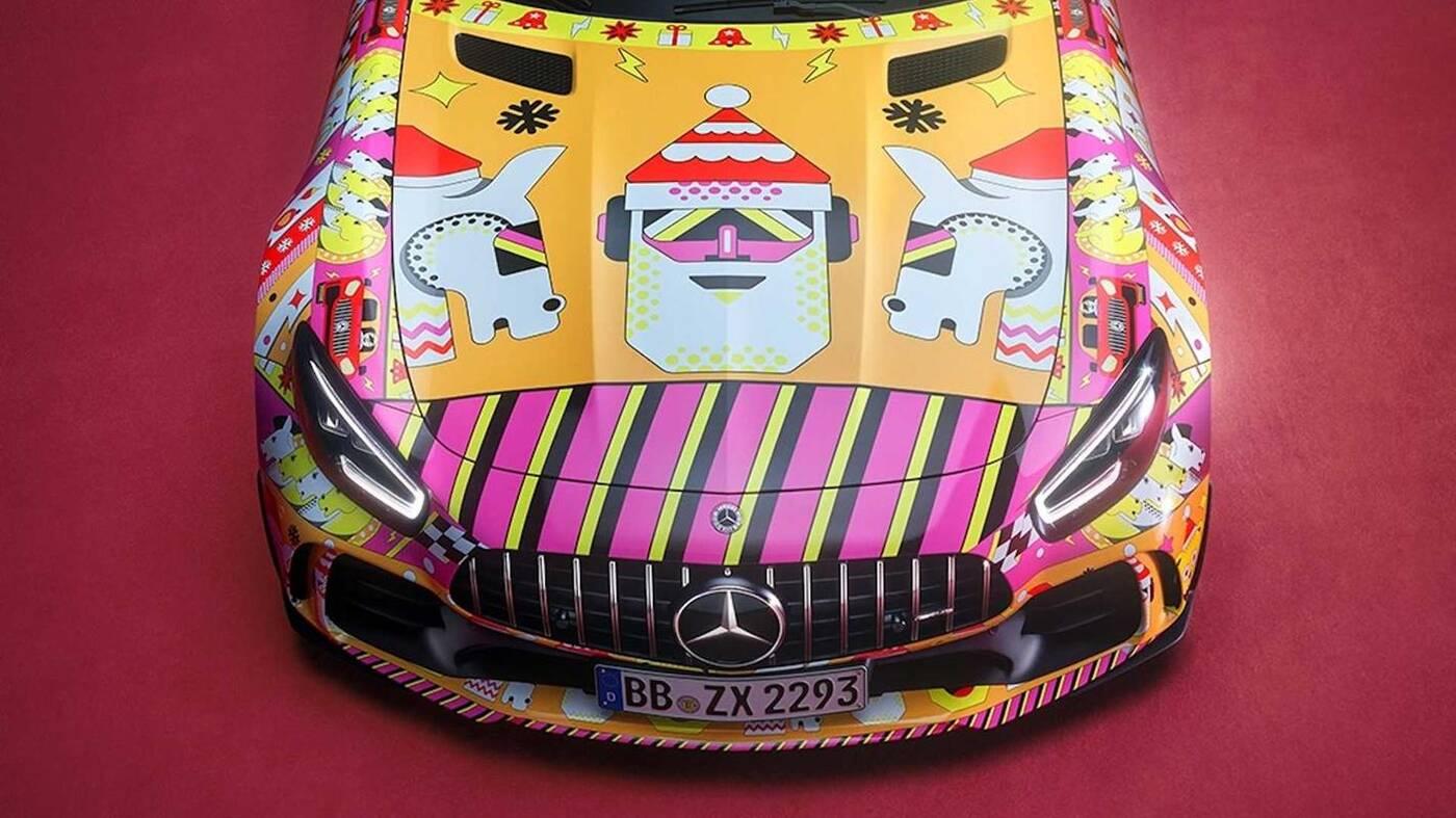 świąteczne samochody Mercedesa, Mercedes świąteczne projekty