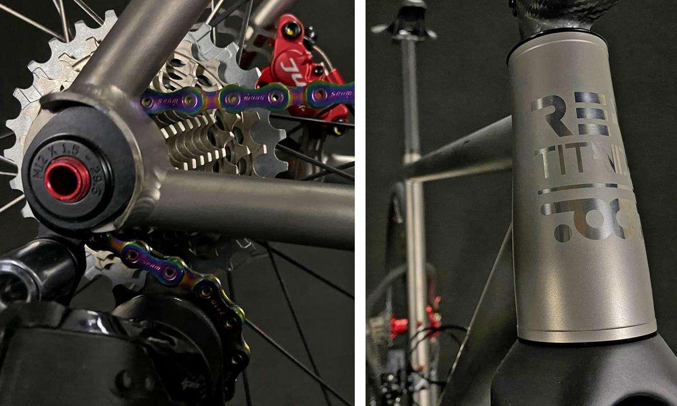 Szalenie lekkie limitowane rowery REA Titanide od TRed