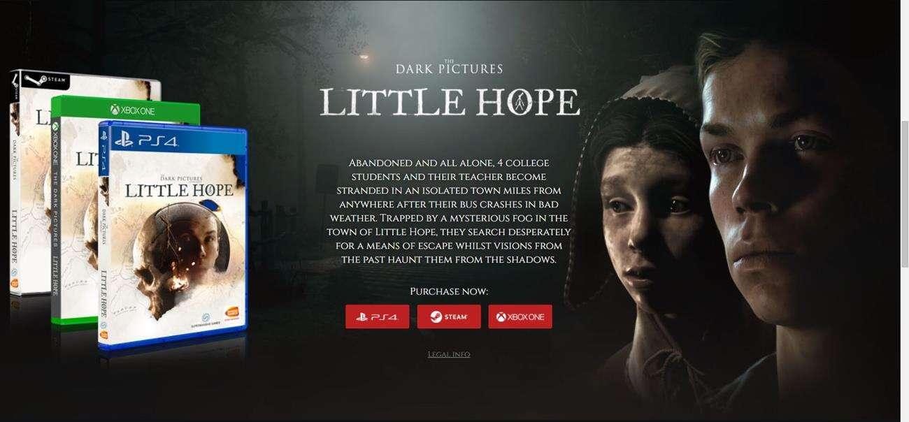 recenzja The Dark Pictures Little Hope