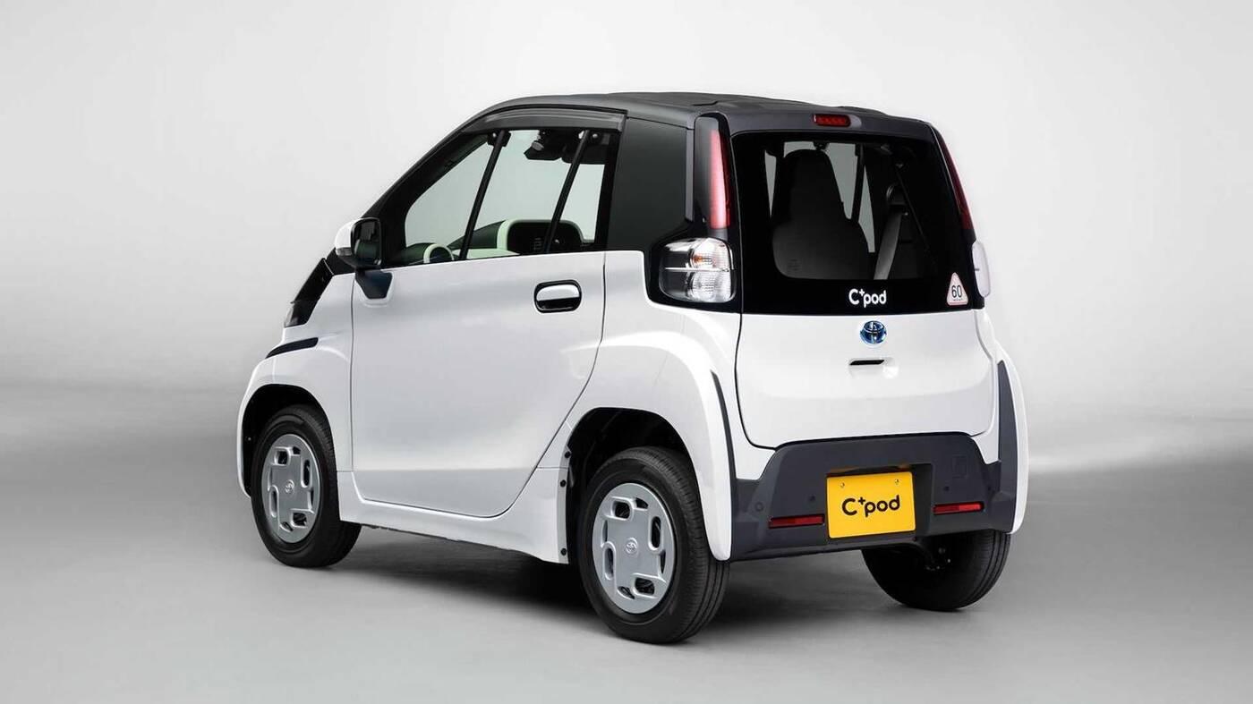 Toyota C+pod, czyli 12 elektrycznych koni i nadwozie z plastiku