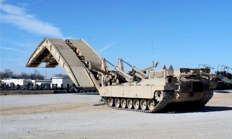 W połowie czołg i most, czyli nowy pojazd Armii USA