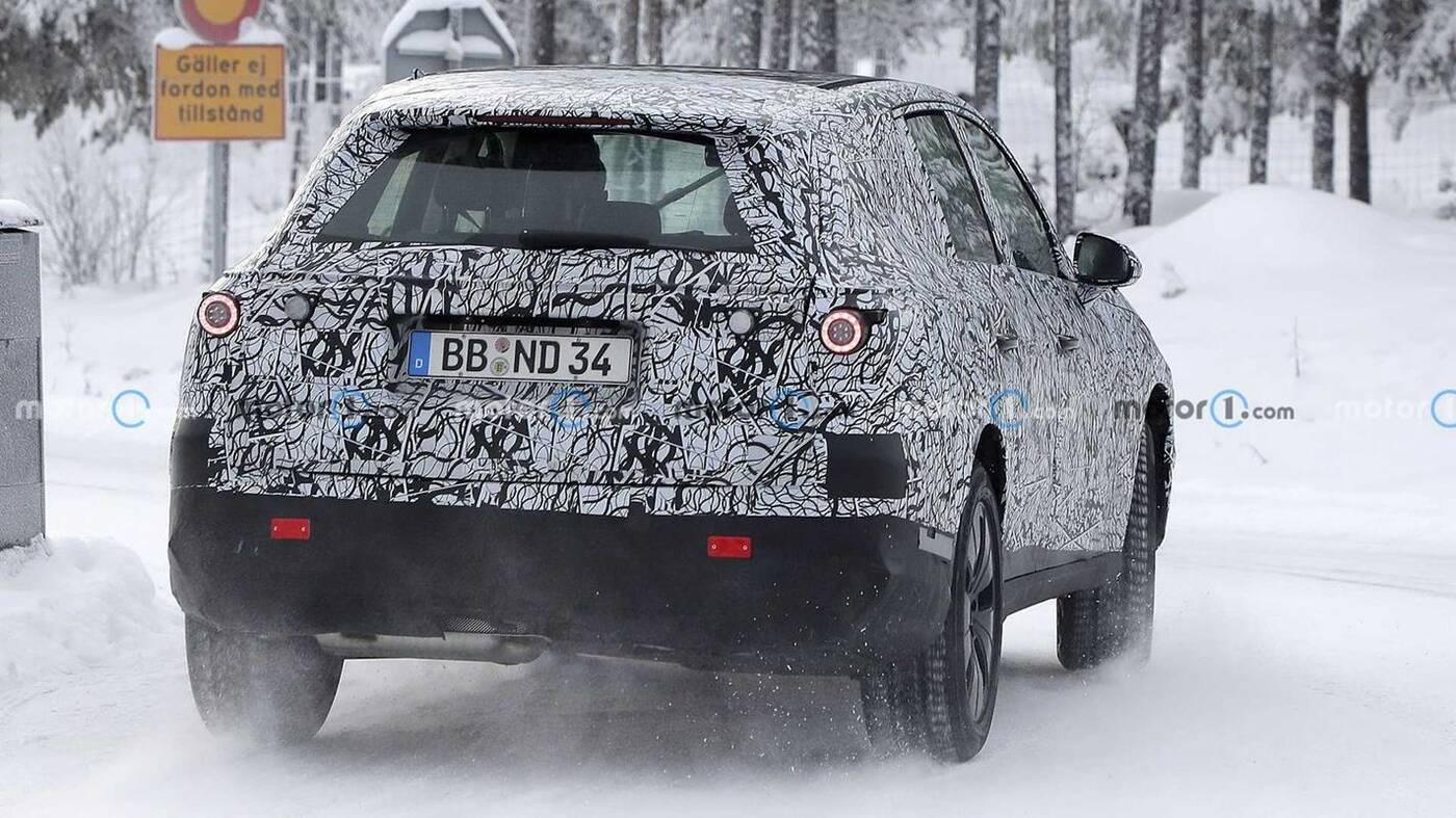 Wyszpiegowano Mercedesa GLC nowej generacji, Mercedes GLC w zimowych testach, Mercedes GLC nowej generacji