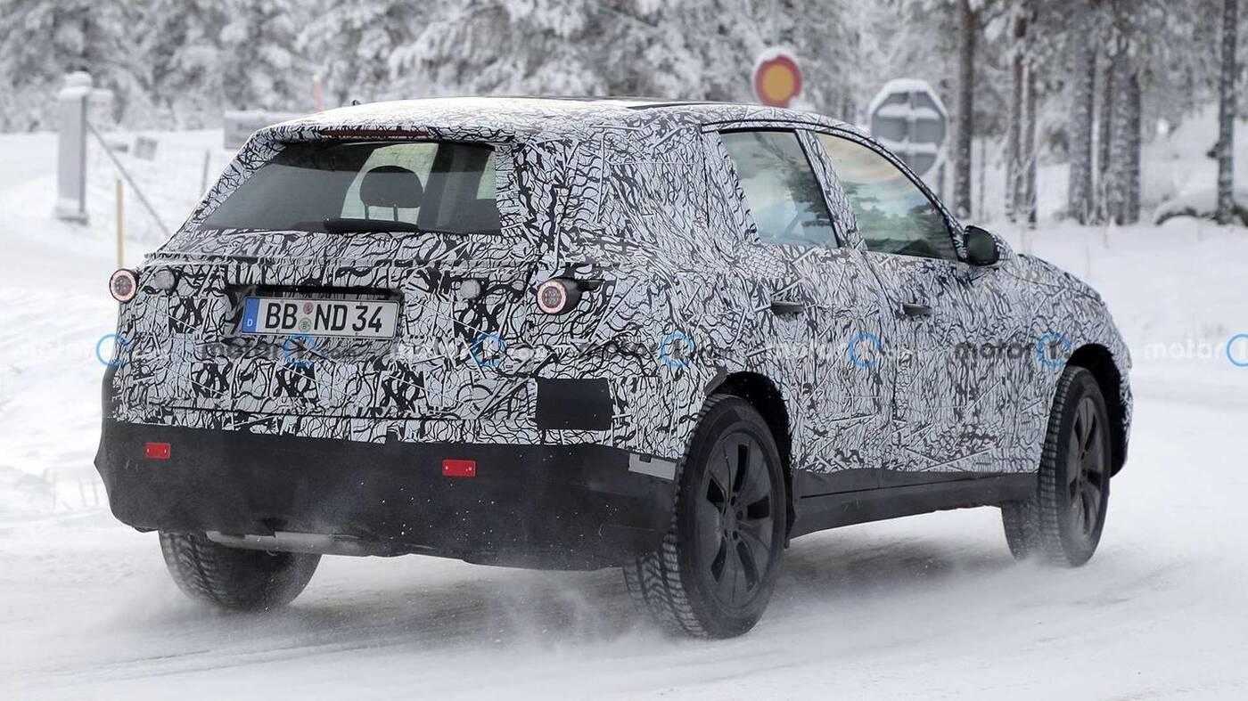 Wyszpiegowano Mercedesa GLC nowej generacji w zimowych testach