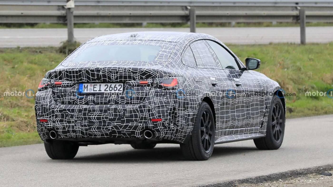 Zdjęcia szpiegowskie nowego BMW 4 Gran Coupe 2022