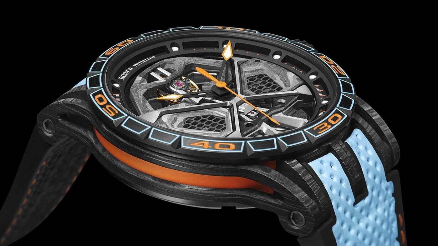 Zegarek Excalibur Spider Huracan STO, czyli coś do pary z nowym Lamborghini