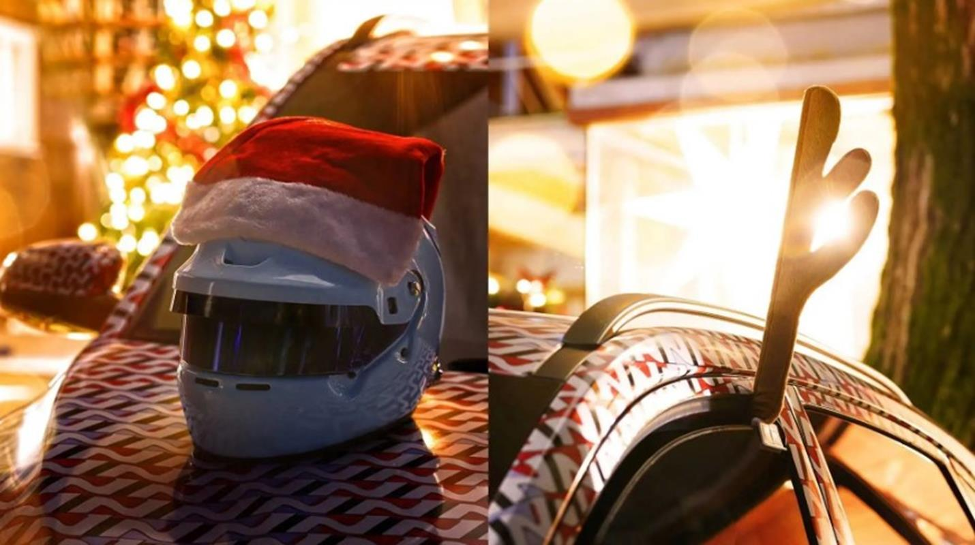 Zwiastun Hyundai Kona N w świątecznym stylu