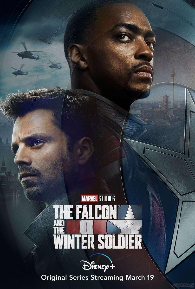 Pierwszy zwiastun serialu Falcon i Zimowy Żołnierz. Znamy datę premiery