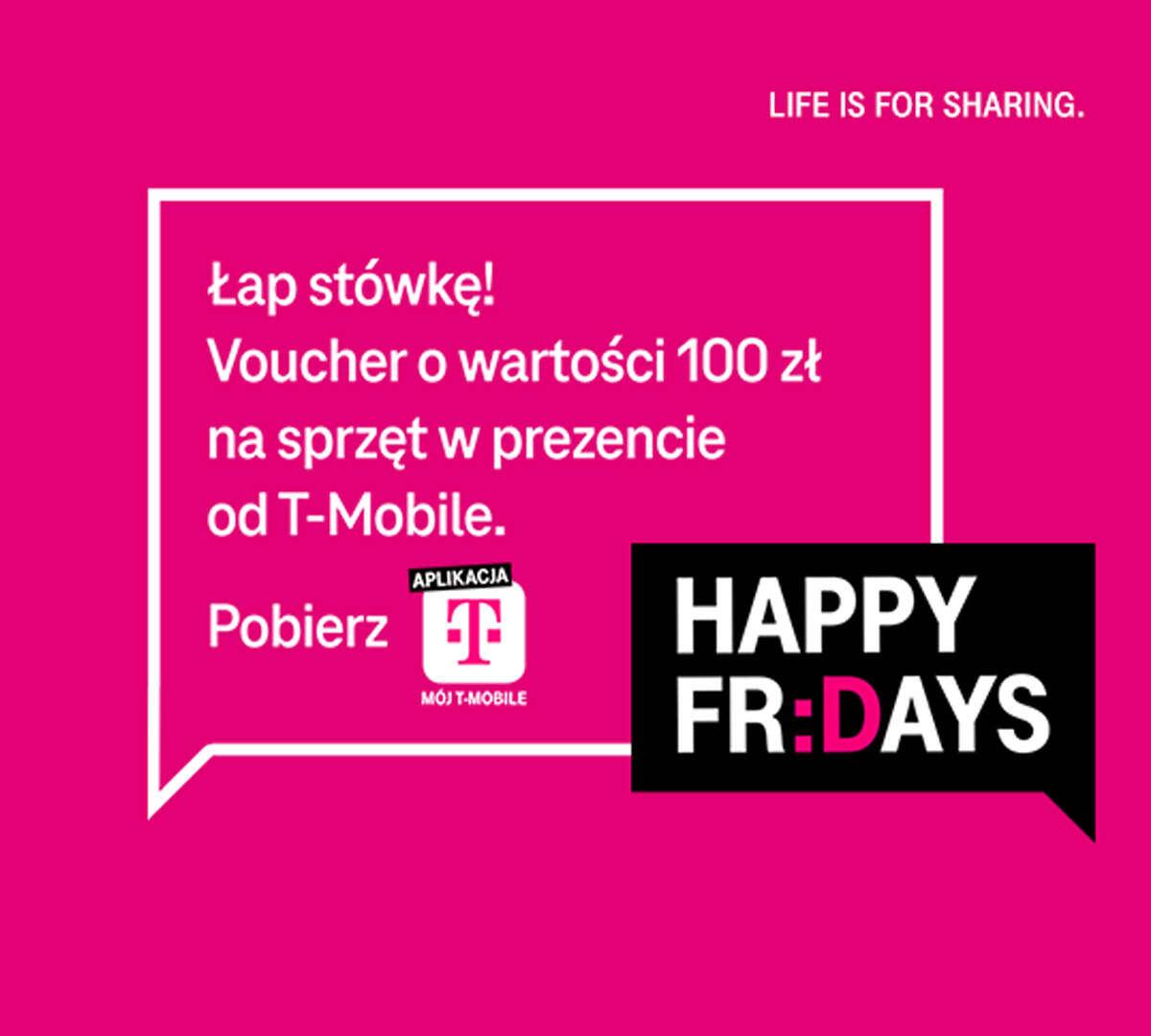 100 zł od T-Mobile na nowy telefon