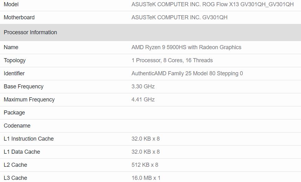 wydajność AMD Ryzen 9 5980HS
