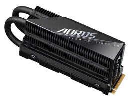 specyfikacja AORUS Gen4 7000s M.2 NVMe SSD