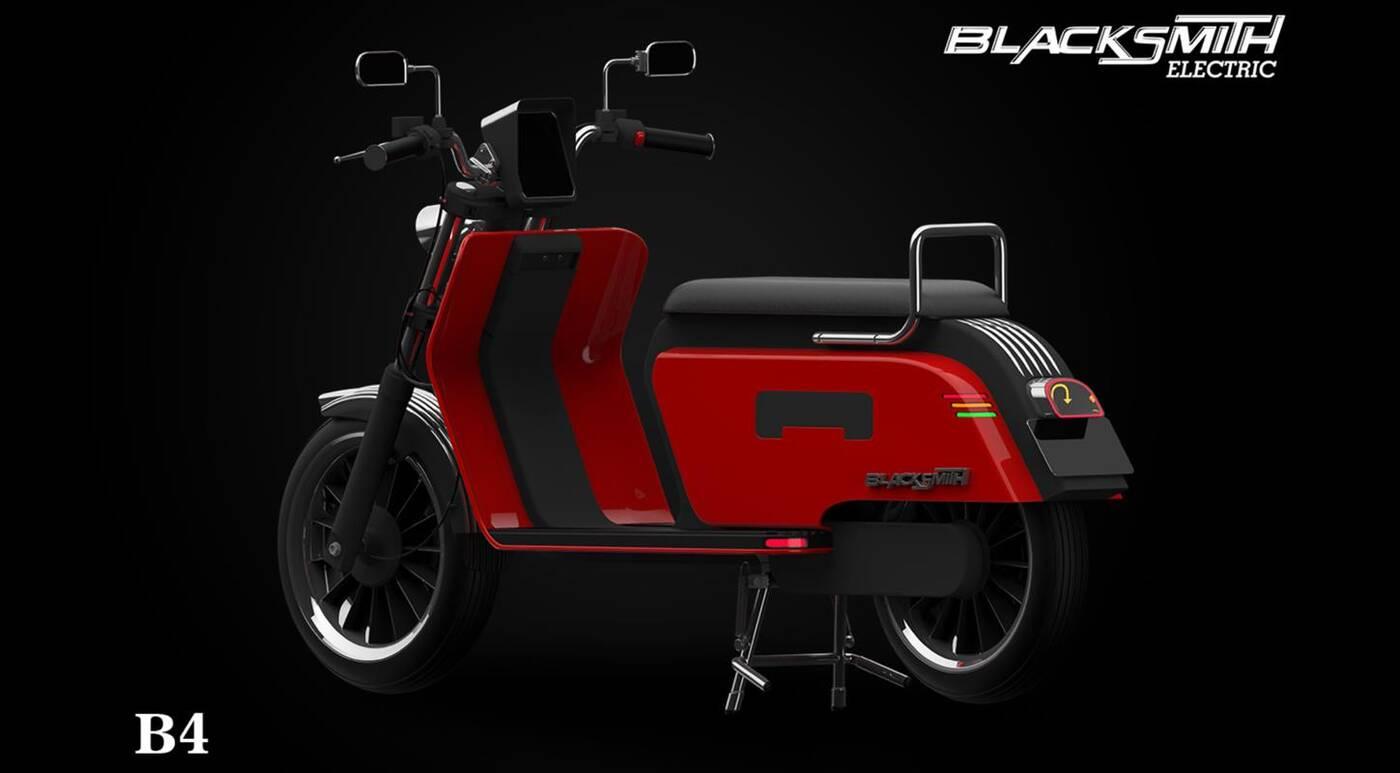 Blacksmith B4 nowym elektrycznym skuterem na rynku