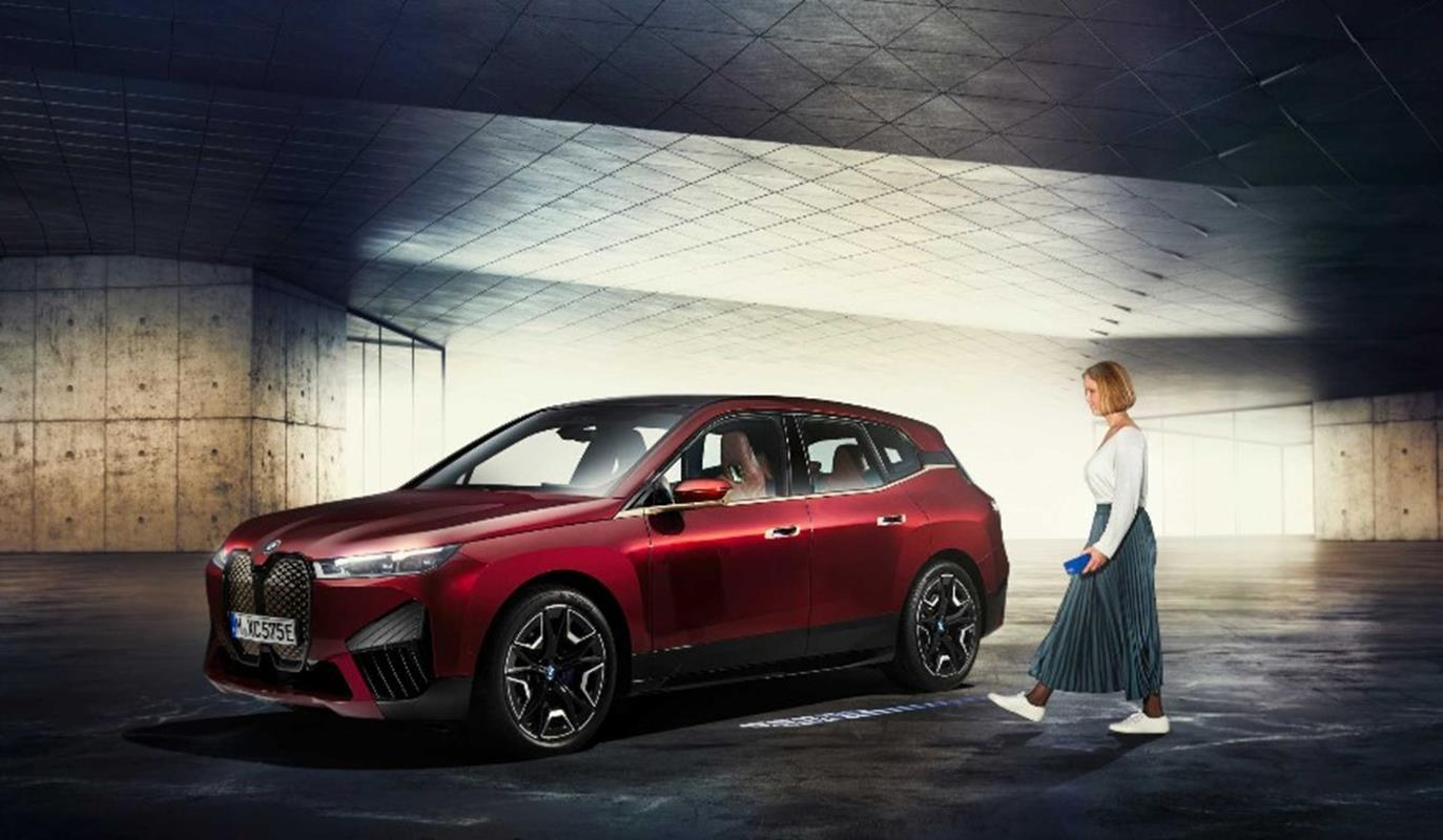 BMW iX, Digital Key Plus, nowy poziom cyfrowego kluczyka