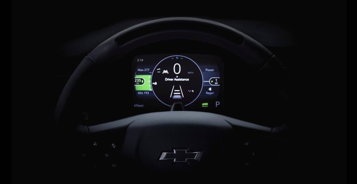 Chevrolet Bolt 2022, Chevrolet Bolt 2022 na zwiastunie, zwiastun Chevrolet Bolt 2022