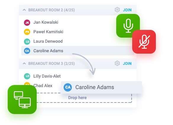 ClickMeeting prezentuje nową funkcję - podpokoje