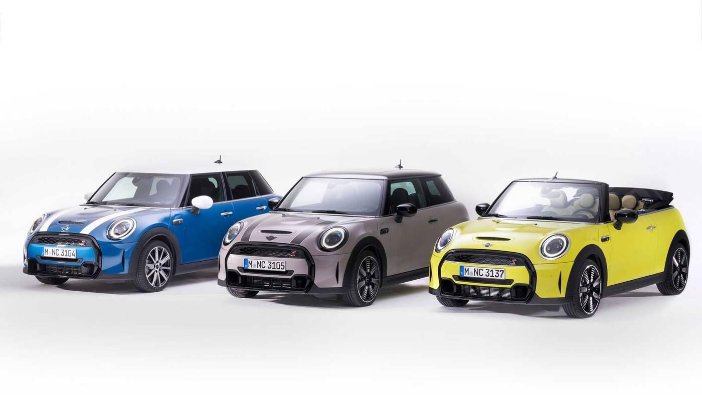 rodzinie Mini Cooper 2022, nowości rodzinie Mini Cooper 2022, Mini Cooper 2022, nowe Mini Cooper 2022