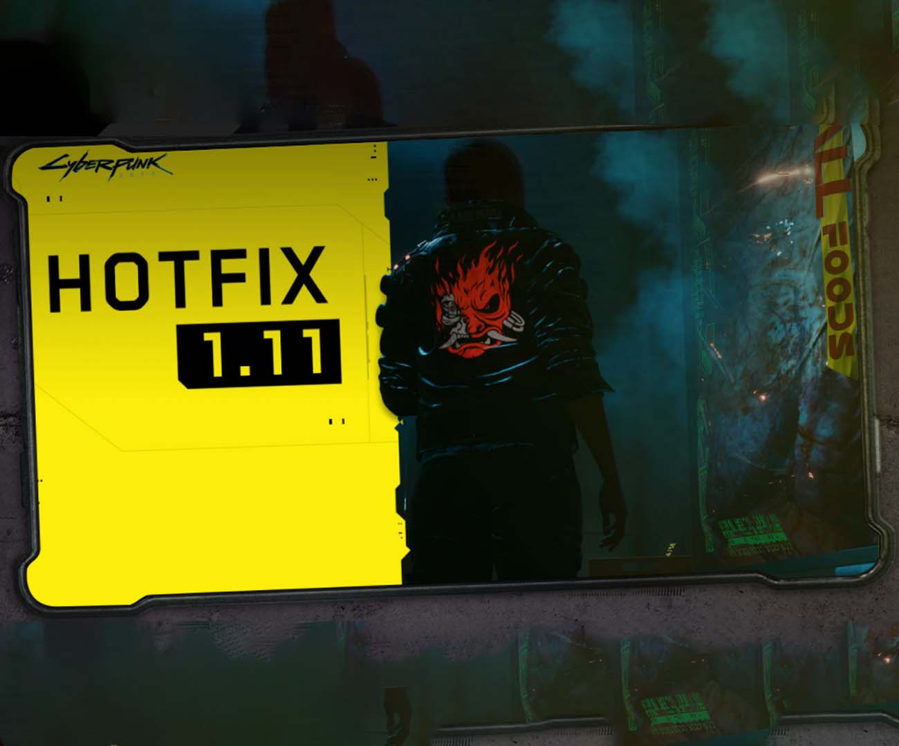 hotfix 1.11 cyberpunk 2077