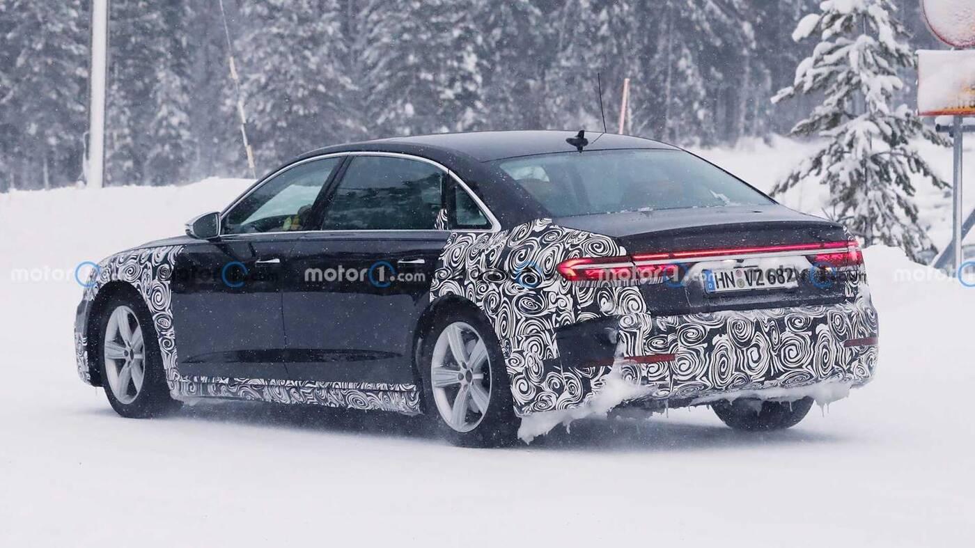 Czyżby to było Audi A8 L Horch 2022?