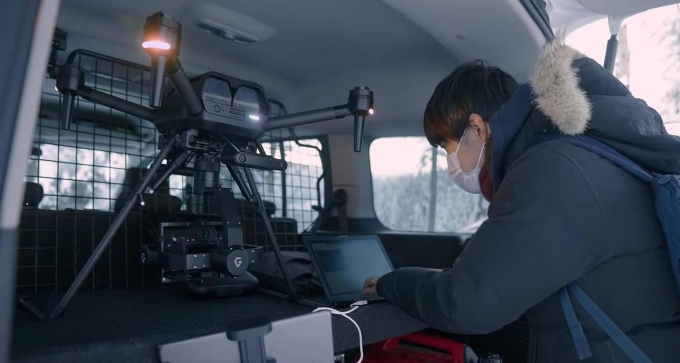 Drony od Sony, czyli firma Airpeak z myślą o kamerach Alpha