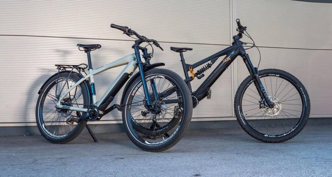 Dwa elektryczne rowery Nox w zestawie taniej, ale z haczykiem