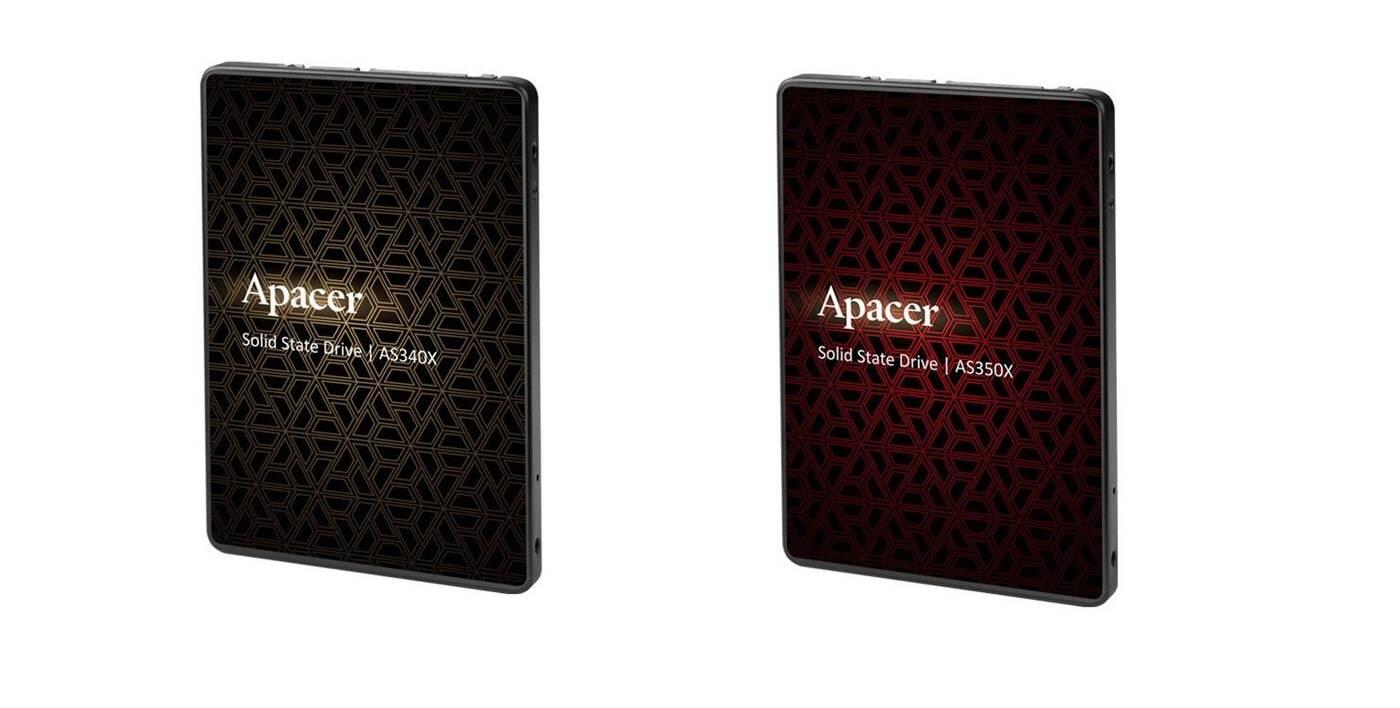 Dwa nowe dyski SSD od Apacer, czyli AS340X i AS350X