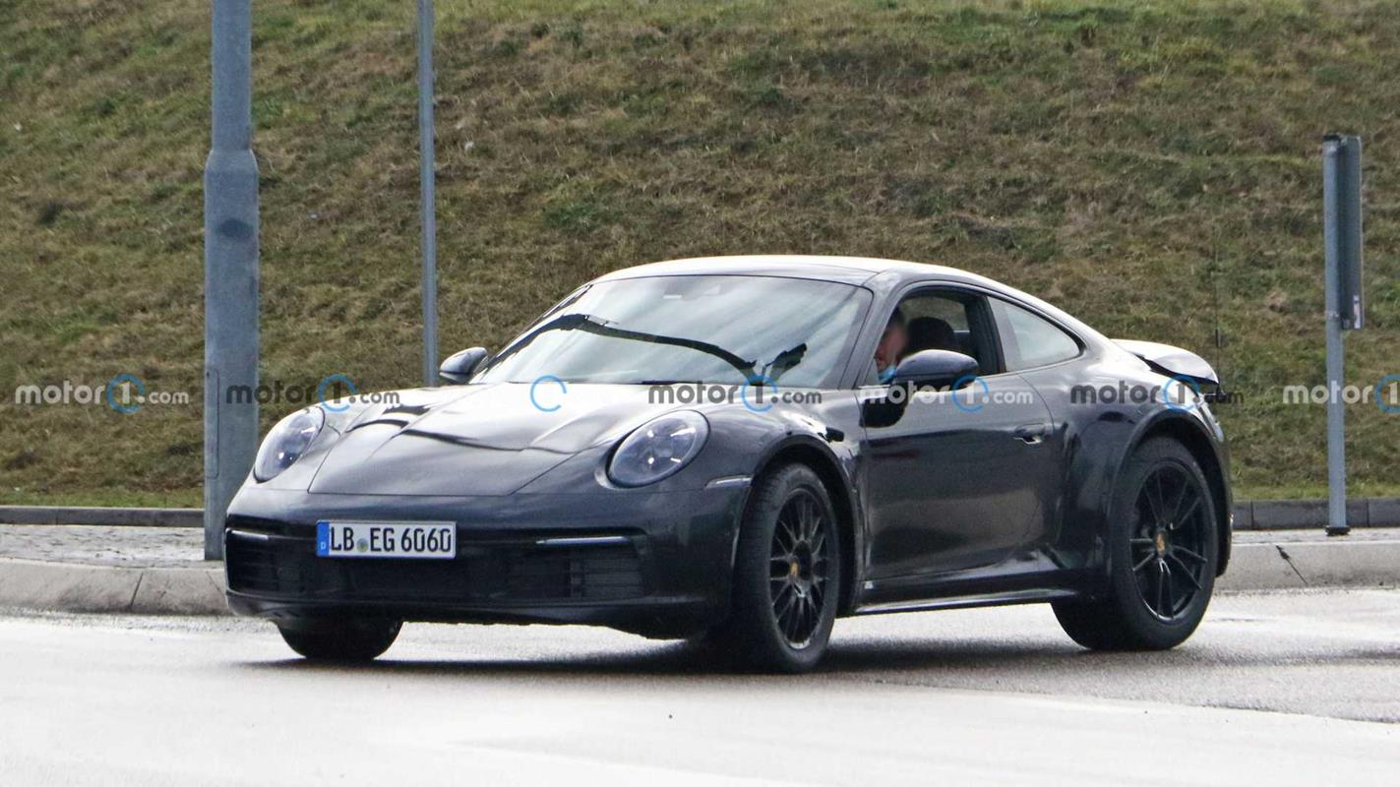 Nieoficjalny render Porsche 911 Safari
