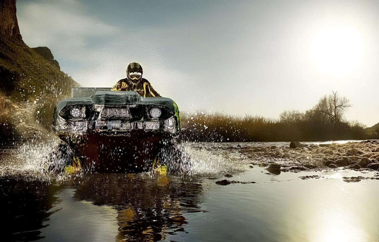 Elektryczny pojazd ziemnowodny Green Scout, Elektryczny pojazd ziemnowodny, Green Scout, Green Scout ATV