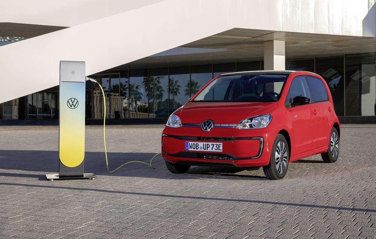 Elektryczny Volkswagen e-up! ponownie dostępny do kupienia