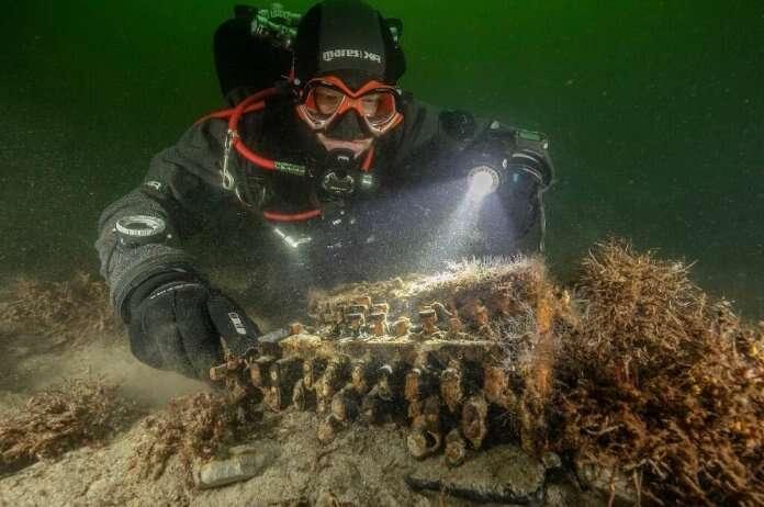 Enigma w Bałtyku. Tym razem znaleziono 6 maszyn