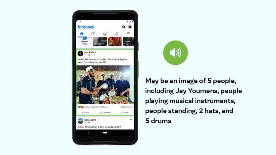 Facebook ulepsza SI opisujące zdjęcia