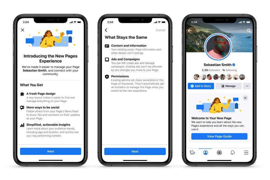 Facebook wprowadza zmiany w sekcji Stron