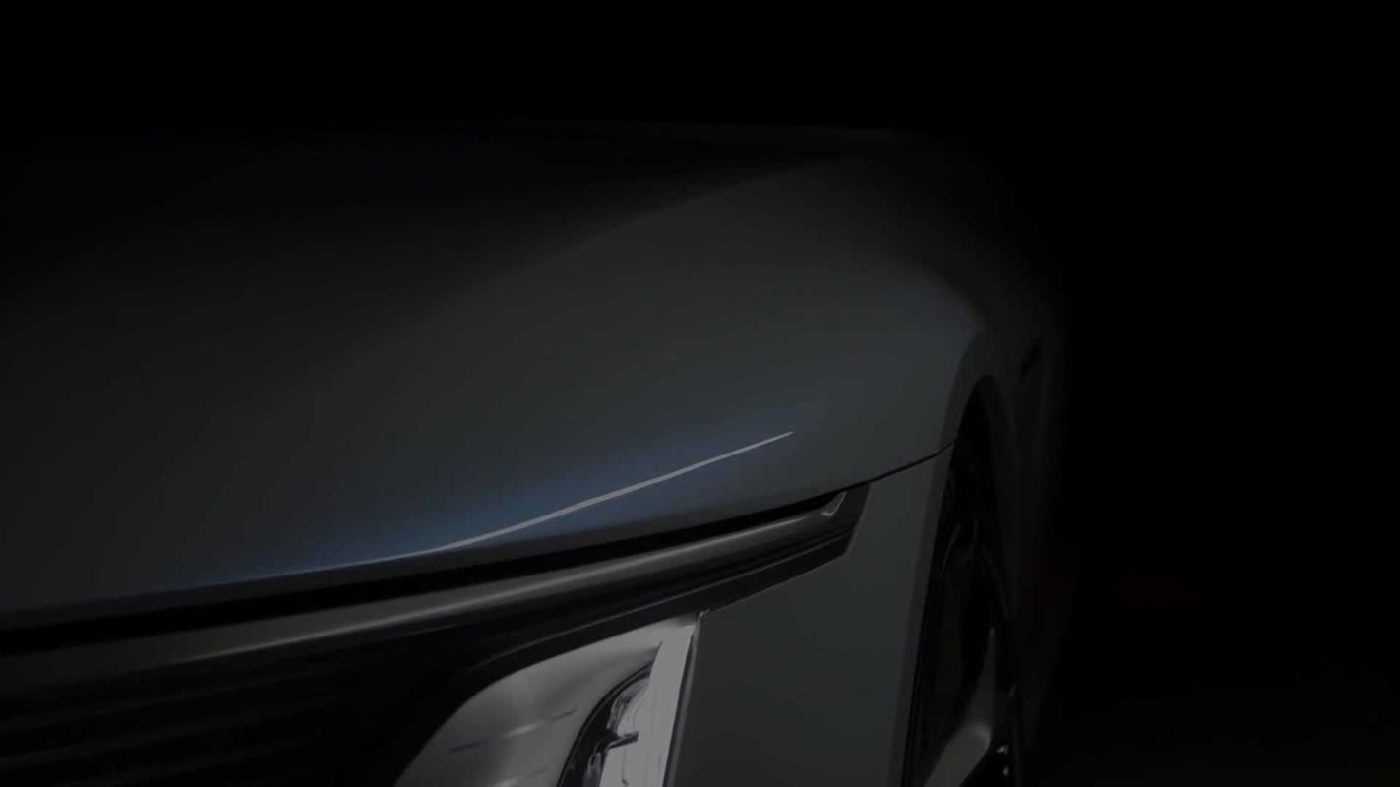 Flagowy elektryczny Cadillac Celestiq na zwiastunie