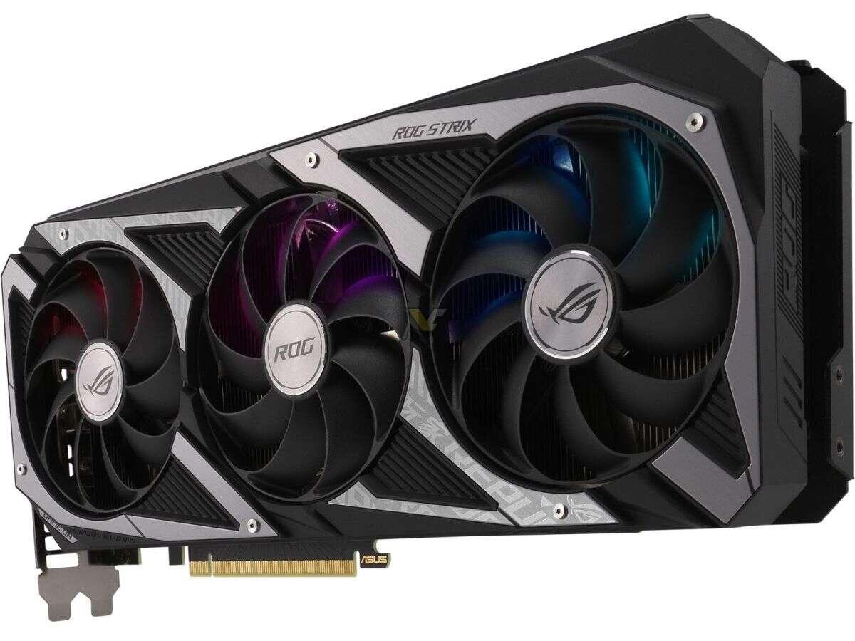 asus GeForce RTX 3060 Strix, specyfikacja asus GeForce RTX 3060 Strix