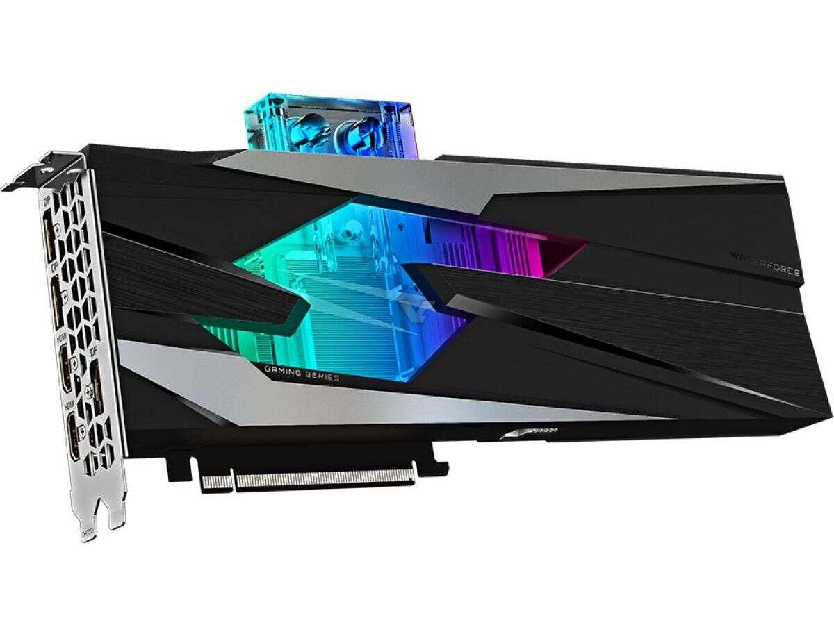 wygląd Gigabyte RTX 3080 Gaming OC WaterForce WB