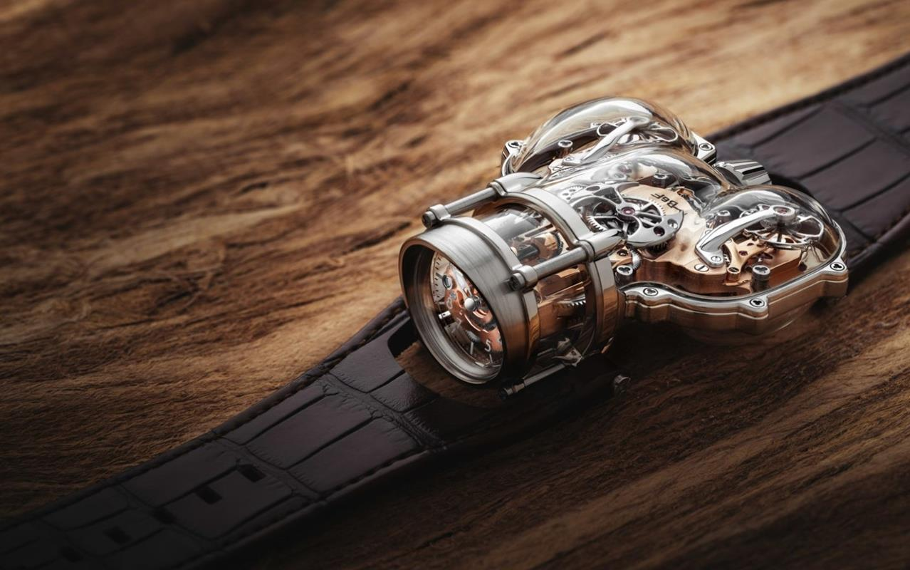 HM9 Sapphire Vision, kiedy zegarki open-heart to za mało, zegarek HM9 Sapphire Vision