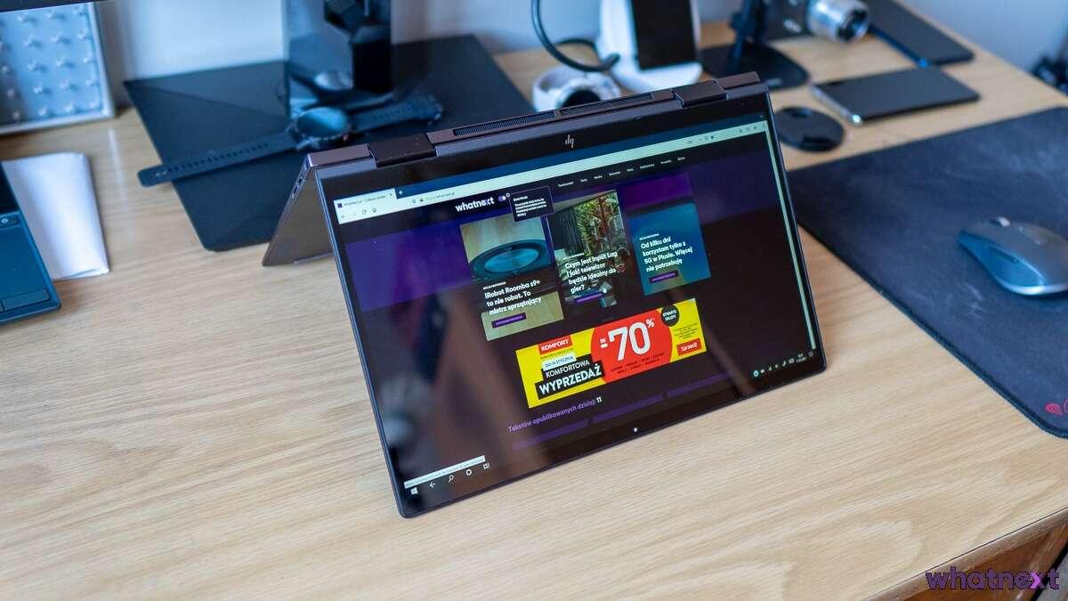 Recenzja HP Envy x360 13 . Yoga jakiej nam brakowało