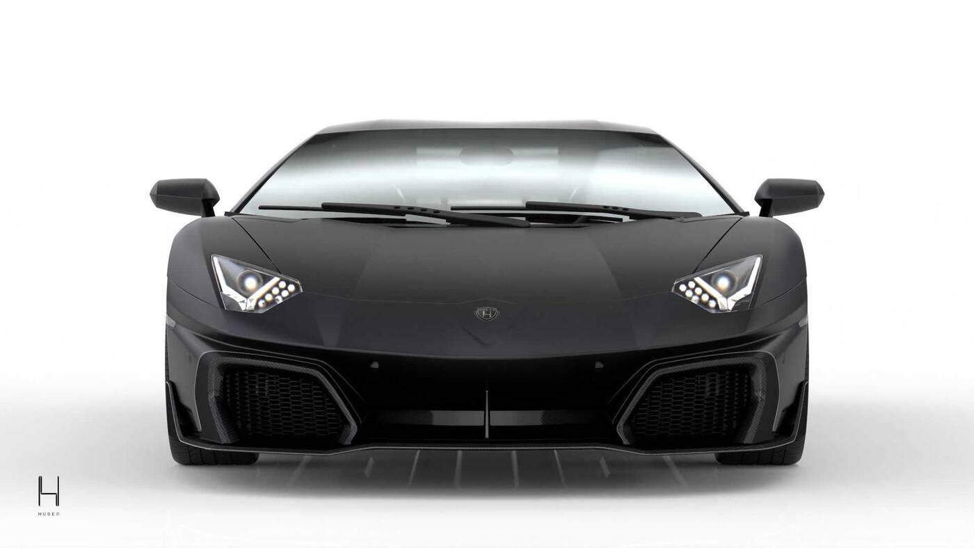 Huber Era, dziesiąte urodziny Lamborghini Aventador, Lamborghini Aventador, Aventador ERA