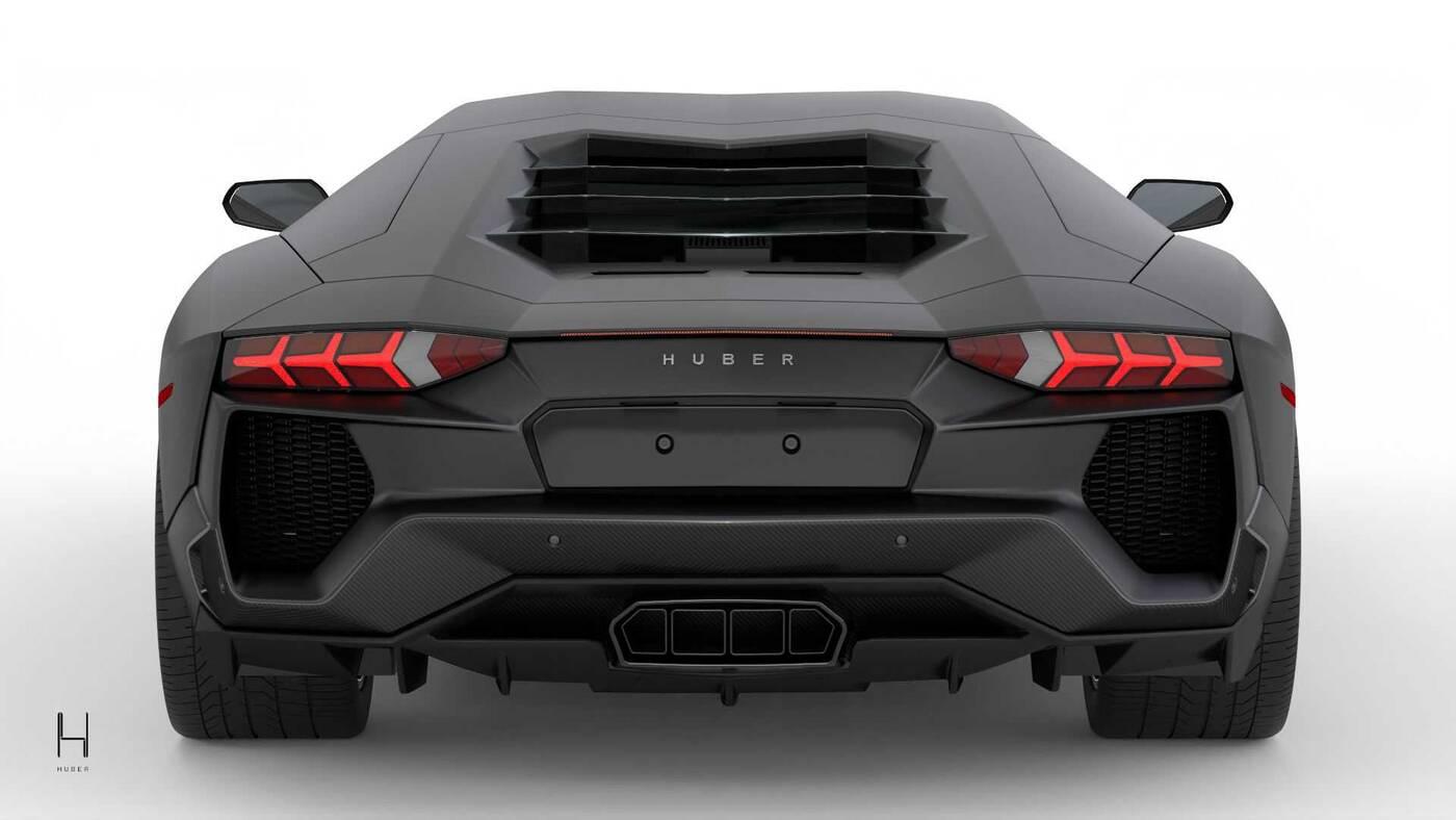 Huber Era świętuje dziesiąte urodziny Lamborghini Aventador
