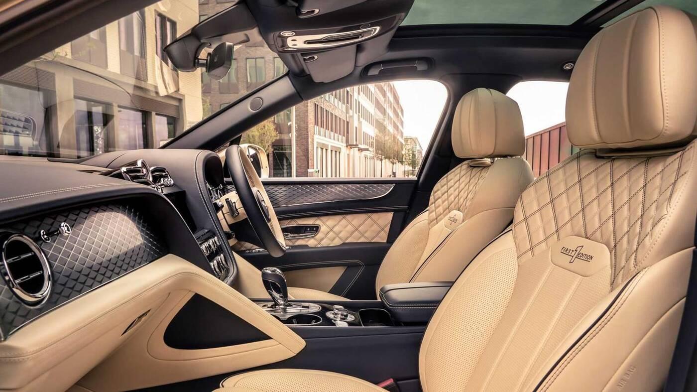 Hybrydowy Bentley Bentayga 2021 zalicza odświeżenie