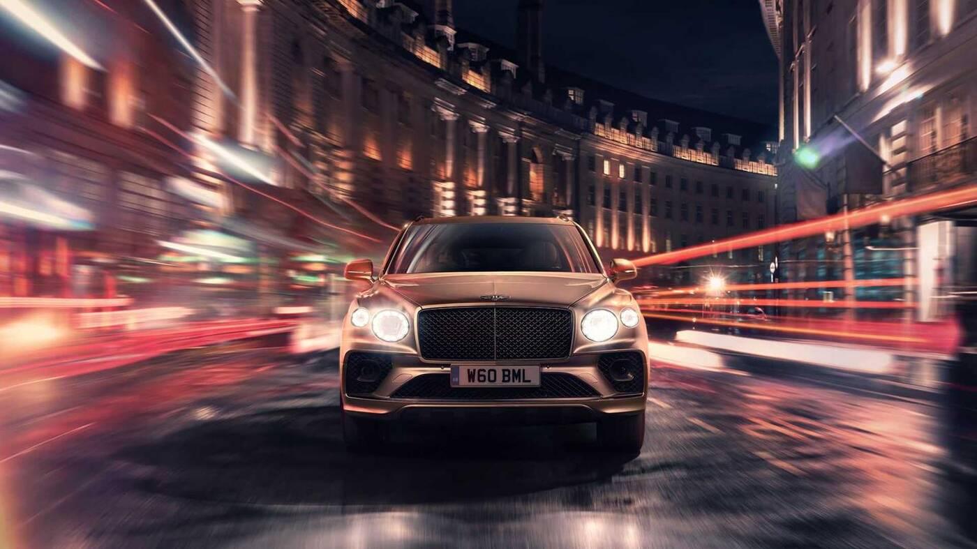Hybrydowy Bentley Bentayga 2021, odświeżenie Bentley Bentayga 2021, Bentley Bentayga 2021, Bentley Bentayga Hybrid