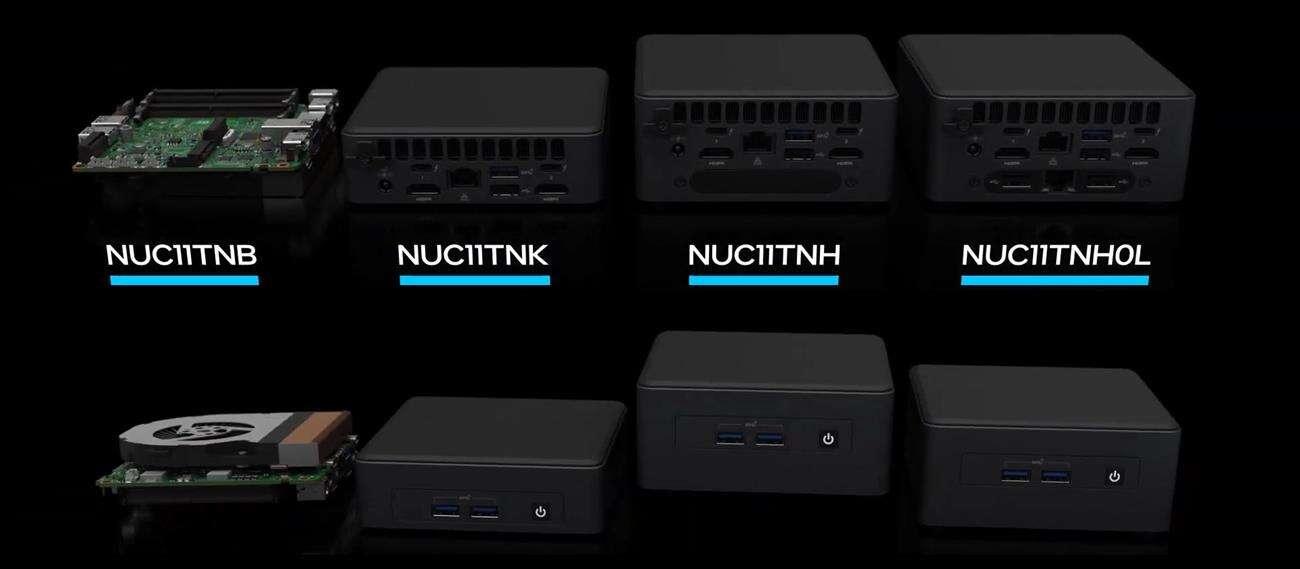 Intel prezentuje serię mini PC NUC 11