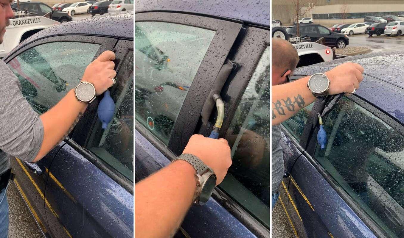 Jeśli kradniesz samochody, nie oglądaj tego. Dobrze?