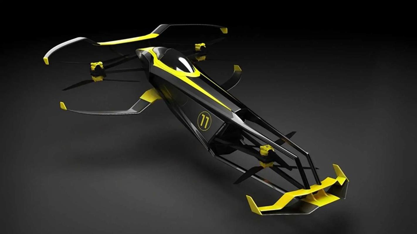 Latający samochód wyścigowy CarCopter