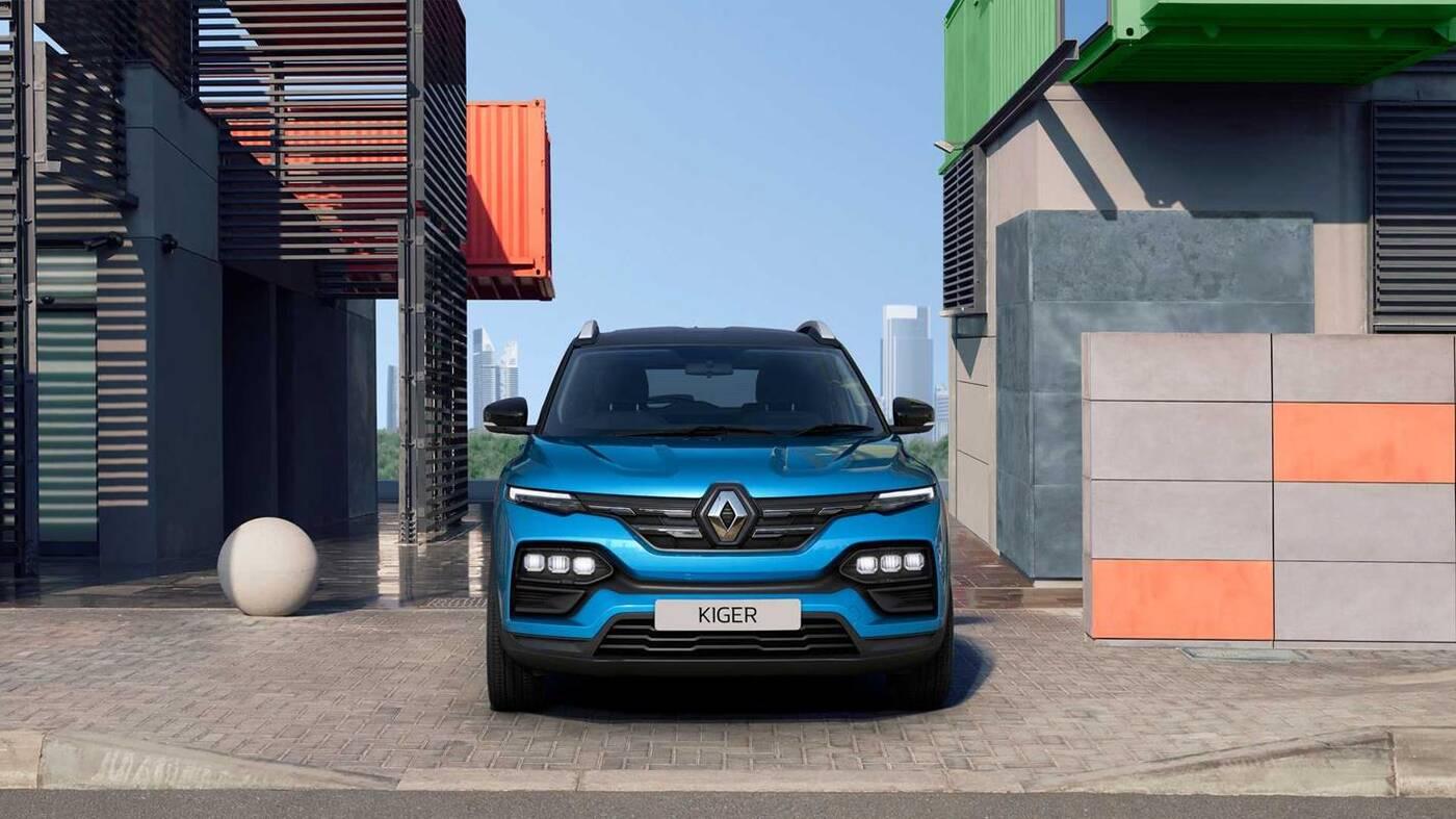 Mały masywny crossover, Renault Kiger 2021 dla mas, Renault Kiger 2021, Kiger 2021