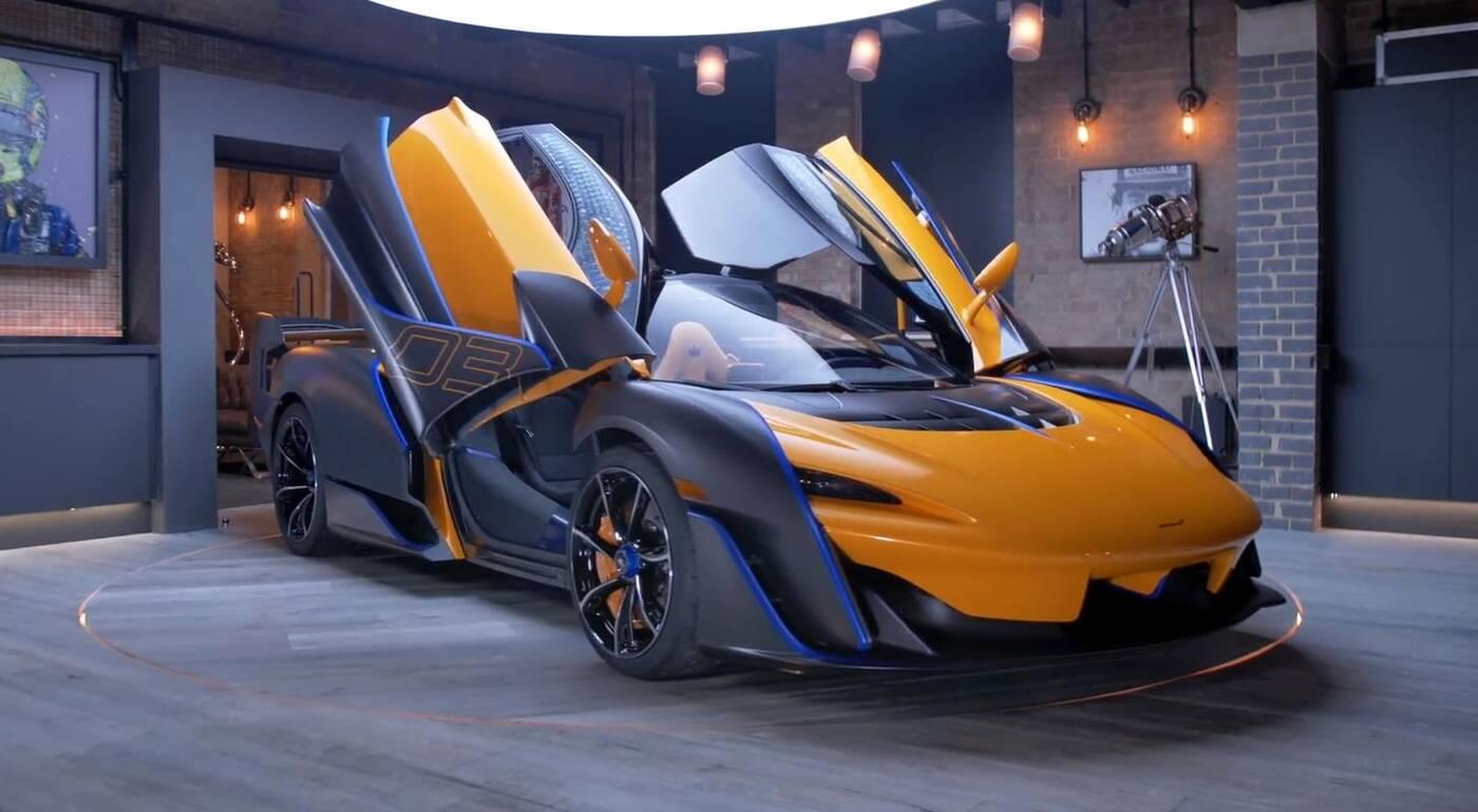McLaren Sabre, McLaren Sabre w szczegółach