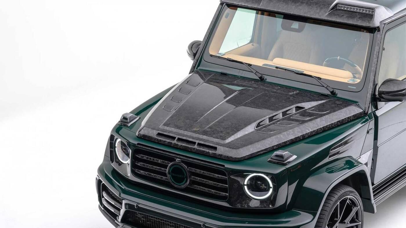 Mercedes-AMG G63 Gronos z kutym włóknem węglowym