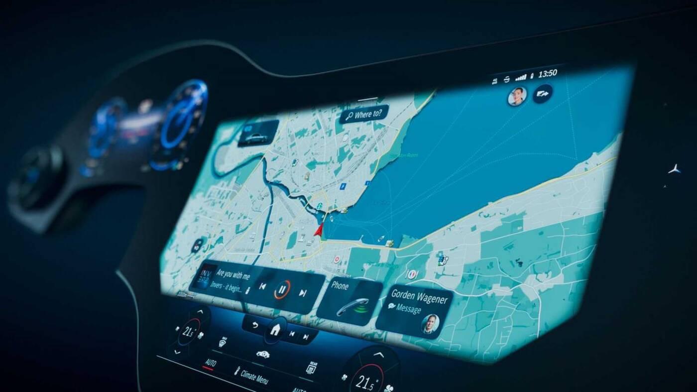 MBUX Hyperscreen i Klasa S Mercedesa pójdą w parze?