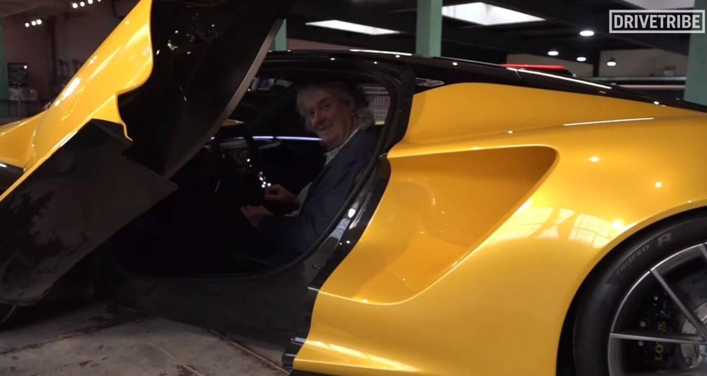 Motoryzacyjna legenda przedstawia elektryczny hipersamochód Lotus Evija