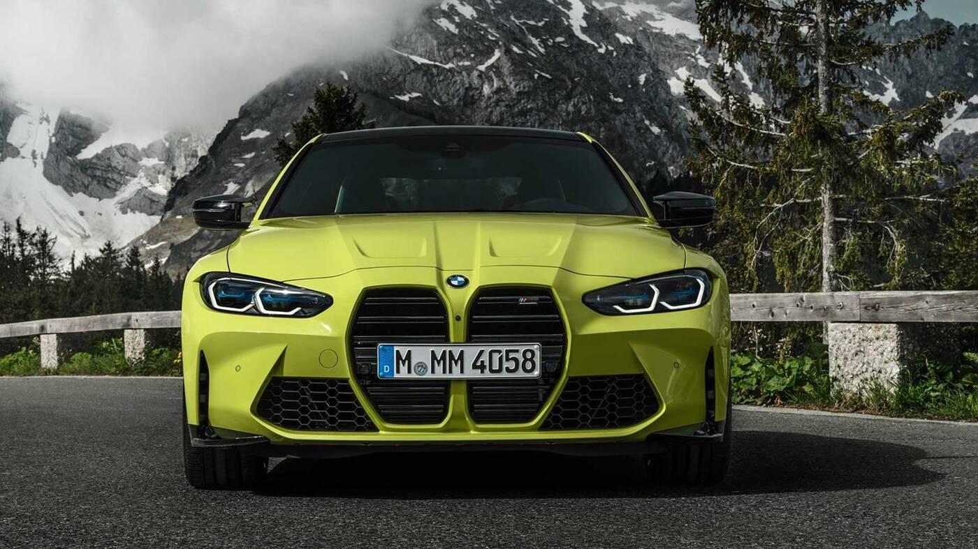 Najlżejsze nowe BMW M4, waga nowych BMW, nowe BMW M4,